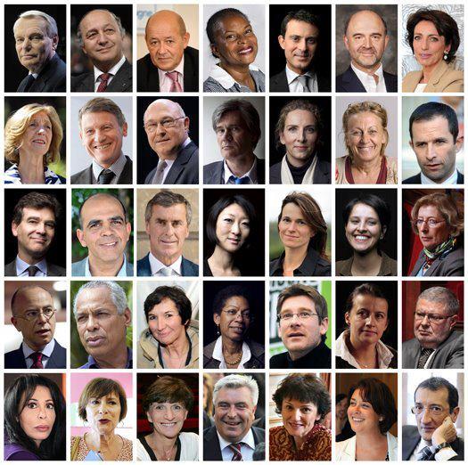 gouvernement mai 2012 trombi ayrault